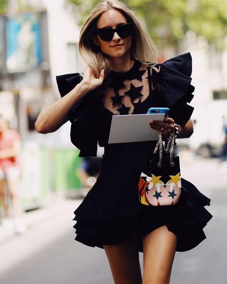 El street style de la Alta Costura nos deja ideas para vestir nuestra melena este verano