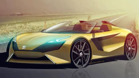 Un diseñador español imagina el SEAT Roadster