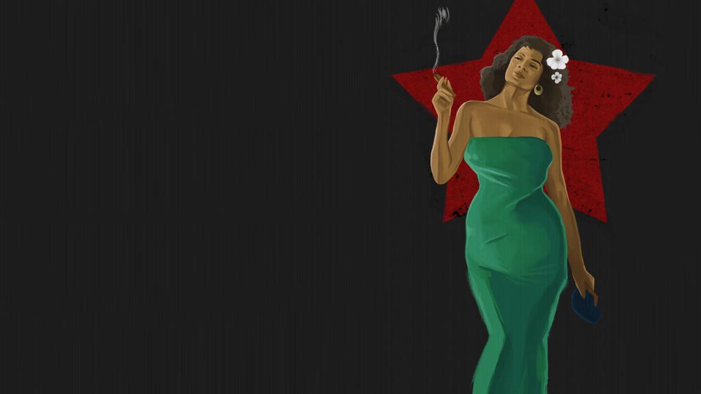 '1958: Dancing With Fear' de Víctor Ojuel (Ilustración por Ara Carrasco)