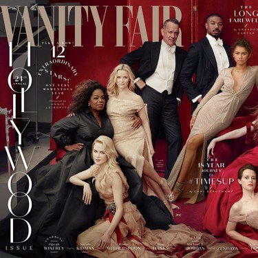 Tenemos candidato al photoshop más chusco del año con el Hollywood Issue de Vanity Fair