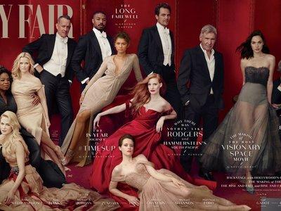Tenemos candidato al photoshop más chusco del año con el Hollywood Issue de Vanity Fair