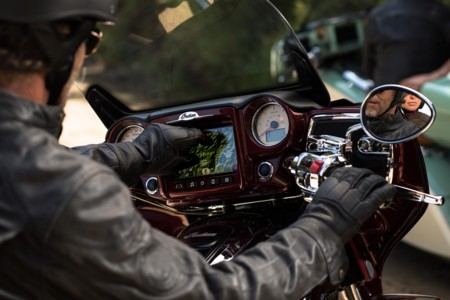 Indian Motorcycle Ridecommand 3