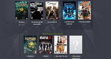 Humble Bundle se actualiza con los mejores juegos de 2K Games