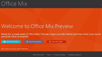 Microsoft prepara Office Mix, una herramienta para convertir PowerPoints en presentaciones online interactivas