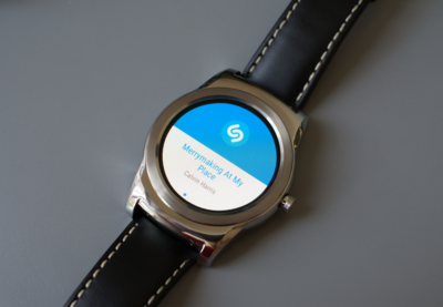 Ahora puedes usar Shazam desde Android Wear