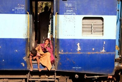 Caminos de India: a Delhi en Tren