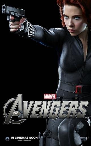 'Los Vengadores', nuevos carteles de los protagonistas