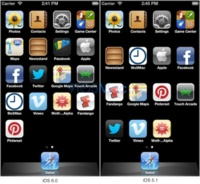 El simulador de iOS 6 se adapta a una pantalla de iPhone más larga de lo normal