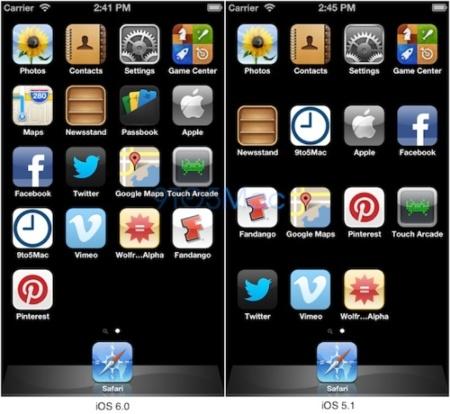 El simulador de iOS 6 se adapta a una pantalla de iPhone más larga de lo normal