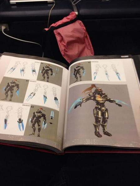 Art book de Killer Instinct muestra posible diseño de Fulgore