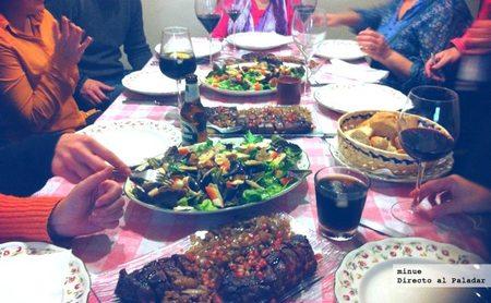 El placer de cocinar para la familia