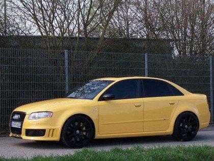 Vídeo de un Audi RS4... a 310 km/h