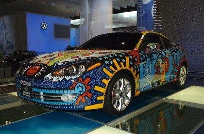 Hyundai Coupe Art Car