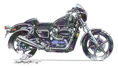 Honda Shadow by Cobra, Café Racer