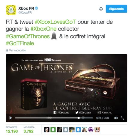 Xbox Juego De Tronos
