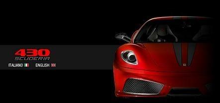 El Ferrari F430 Scuderia ya tiene su web exclusiva