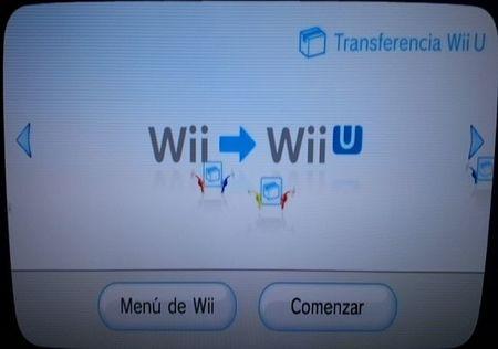 Transferencia Wii U