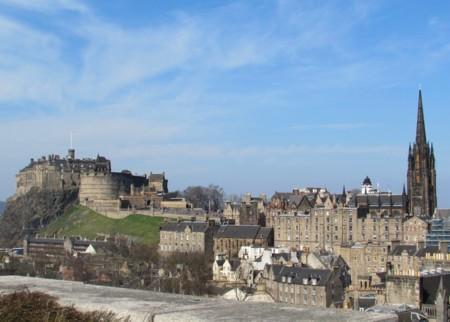 Vistas de Edimburgo desde el Museo Nacional
