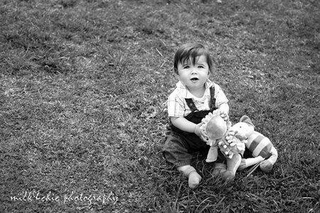 La foto de tu bebé: Javi, el pequeño aventurero
