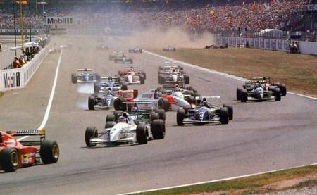 Salida GP Alemania 1994