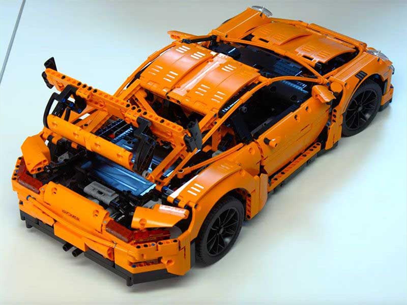 Foto de Porsche 911 RS GT3 Lego Technic (9/9)