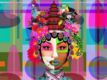 MAC y Chris Chang of Poesia se unen para crear una colección llena de color
