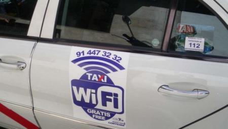 Las conexiones WiFi gratuitas se extienden por los taxis de Madrid