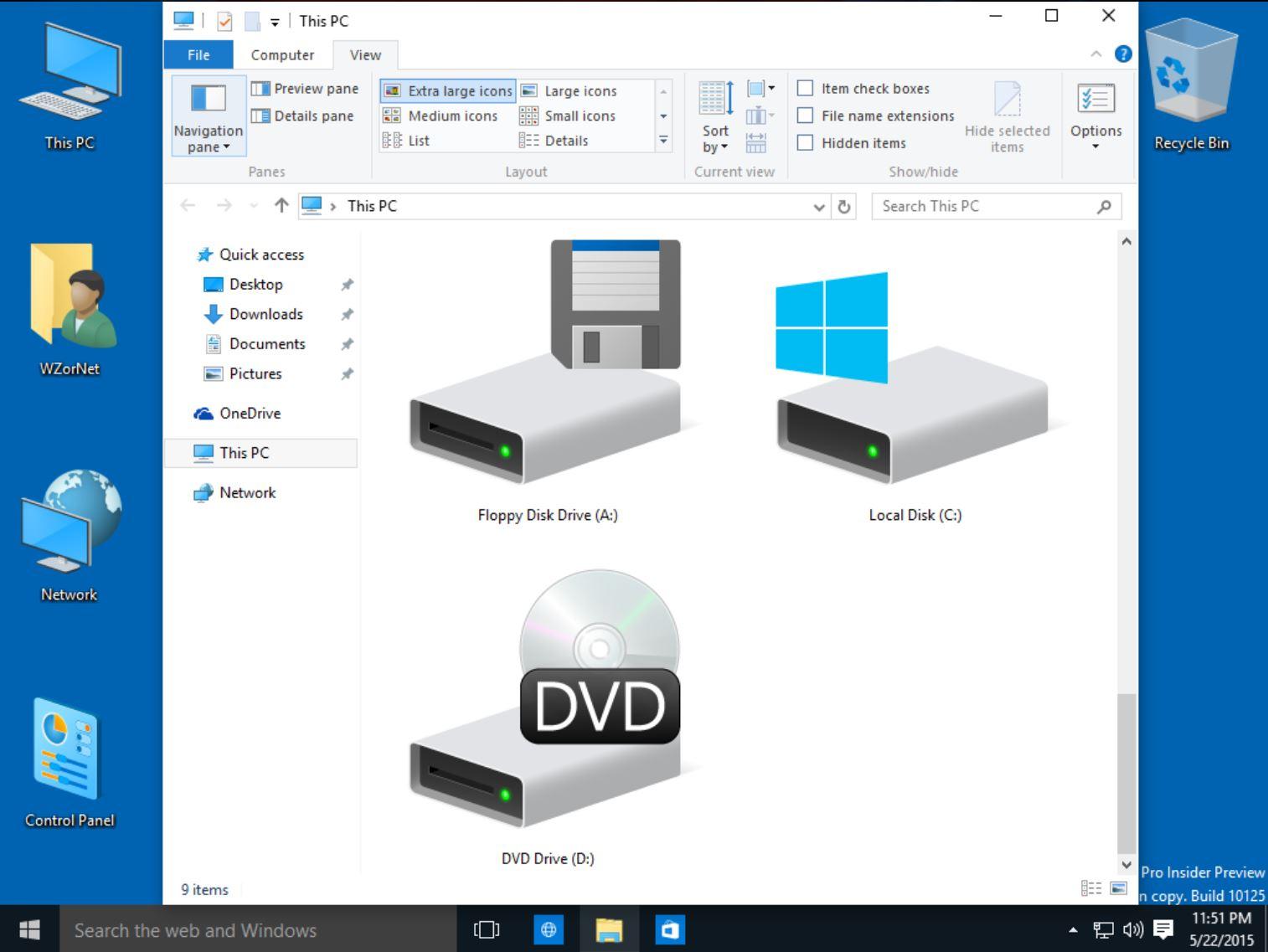 Cambios En La Interfaz Y Los Iconos En La Build 10125