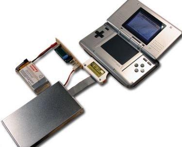 Nintendo DS con 40 GB de capacidad