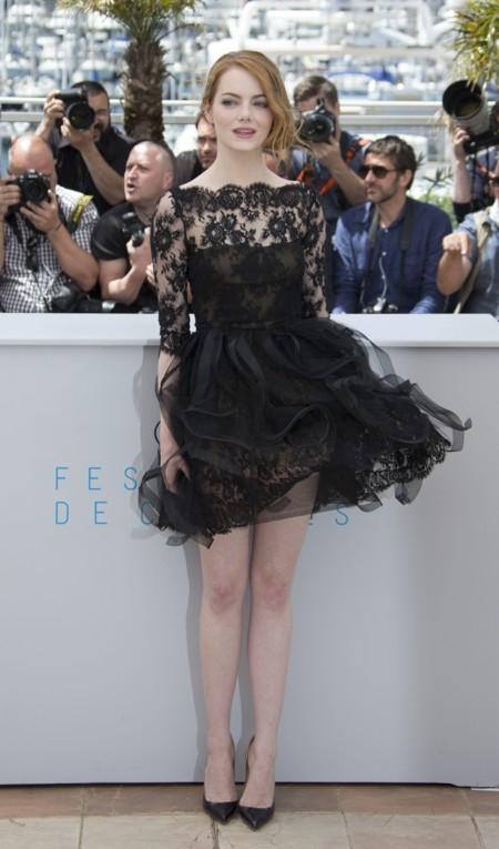 Emma Stone De Oscar De La Renta