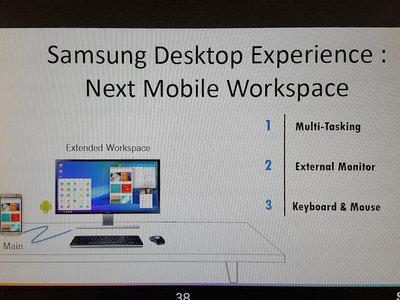 Samsung estaría trabajando en una función para convertir el Galaxy S8 en un PC completo