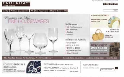 Portero.com: web donde comprar artículos de lujo usados garantizados