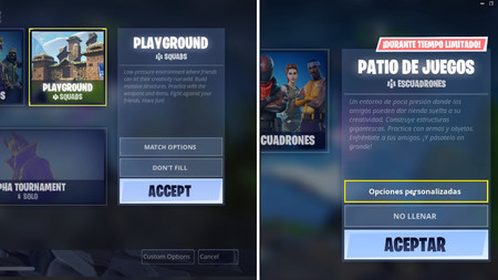 Fortnite Patio De Juegos