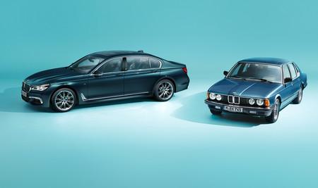 BMW Serie 7 Edition 40 Jahre: celebrando 40 años de historia con todo el lujo y la tecnología de BMW