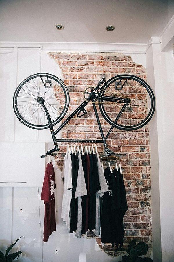 Amantes de las bicicletas, atentos a esta decoración sobre ruedas