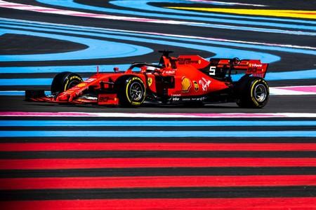 Vettel Francia F1 2019
