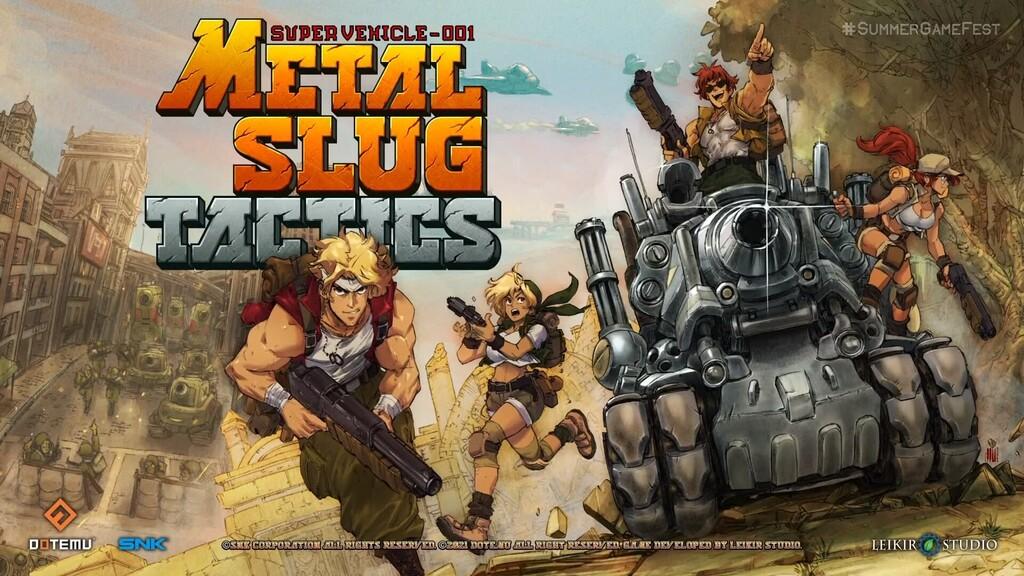 ¡Sorpresa! Metal Slug Tactics nos propondrá el rol táctico retro más impresionante de la mano de Dotemu y SNK