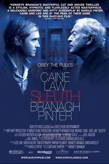 Póster de 'Sleuth' de Kenneth Branagh