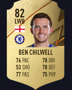 Chilwell fifa 22 mejores defensas