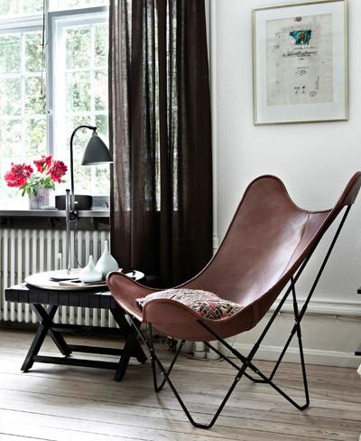 Rincón de lectura con silla bkf