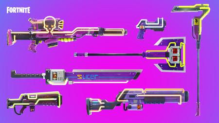 Fortnite Armas Neon