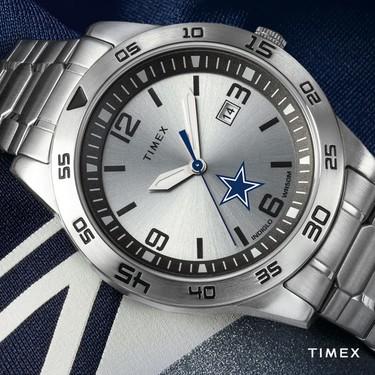 Timex lanzará una exclusiva colección de relojes inspirándose en los equipos de la NFL