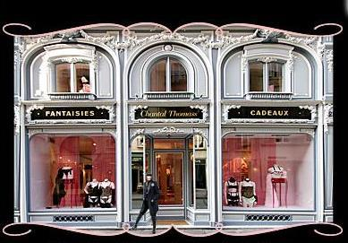 Fachada de la boutique en Paris