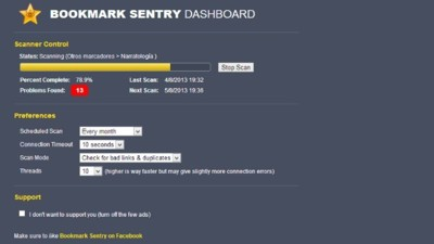Elimina enlaces duplicados o erróneos de tus marcadores de Chrome con Bookmark Sentry