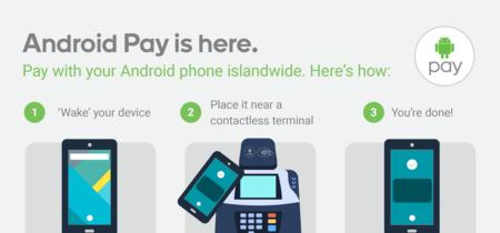 Android Pay llega a Singapur, próximo destino Australia y más países
