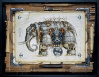 ¡Animales steampunk!, cortesía de Vladimir Gvozdariki