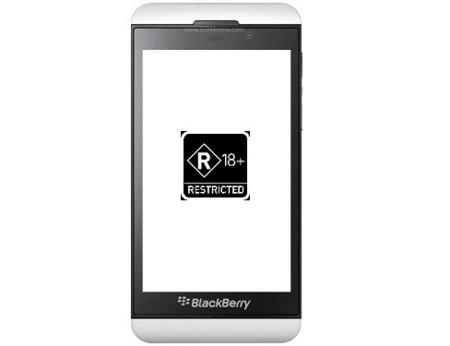 Tu BlackBerry Z10 puede chivarse a tus amigos de que ves pornografía en el móvil