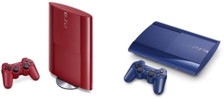 La nueva PS3 en azul y rojo llega el 20 de febrero a España