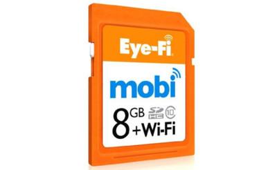 Eye-Fi Mobi quiere que llevemos la cámara siempre conectada al móvil