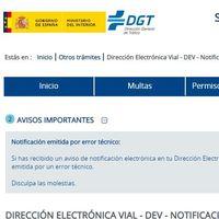 El polémico e-mail de la DGT que advierte de forma masiva a conductores sobre una multa de Tráfico... por error